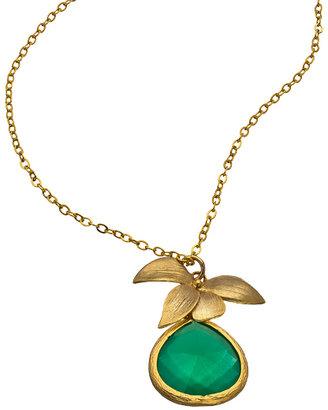 Alvina Abramova Green Prescilla Necklace