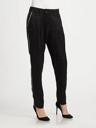 Smythe Jacquard Star Pajama Pants