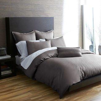 Bed Bath & Beyond Portico Windswept OrganicDuvet Cover Set in Kitten Grey