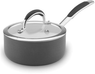 Vinaroz 3-qt. hard-anodized nonstick ceramic saucepan