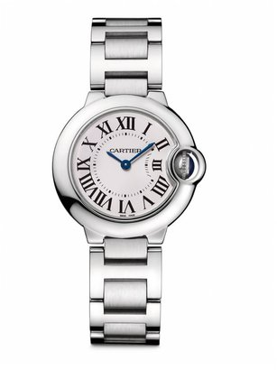 Cartier Ballon Bleu de Small Stainless Steel Bracelet Watch