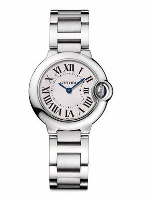 Cartier Ballon Bleu de Small Stainless Steel Bracelet Watch