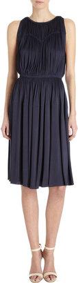 Rochas Sleeveless Crewneck Dress
