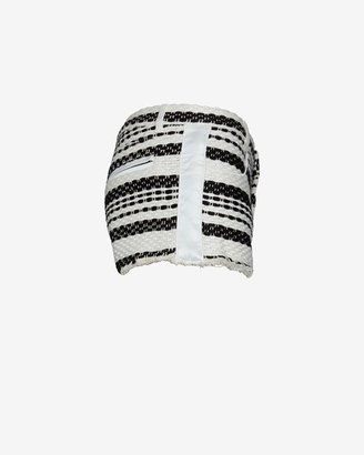 Intermix IRO Axano Stripe Cutoff Shorts