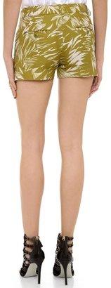 Jason Wu Botanical Linen Crepe Shorts