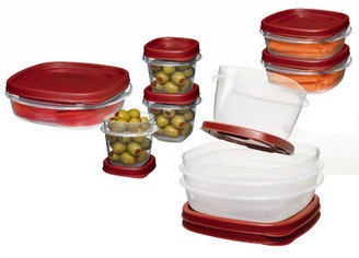 Rubbermaid 18 Piece Food Storage Container Set
