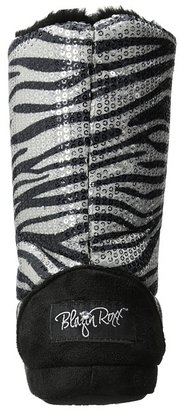 M&F Western Sequin Animal Print Bootie Slippers