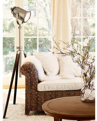 Pottery Barn Photographer's Adjustable Tripod Metal Floor Lamp