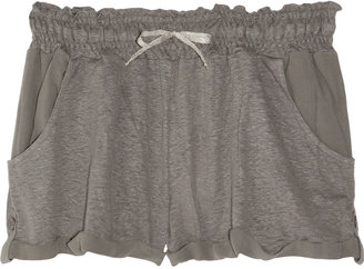 Vanessa Bruno Linen and silk-chiffon shorts