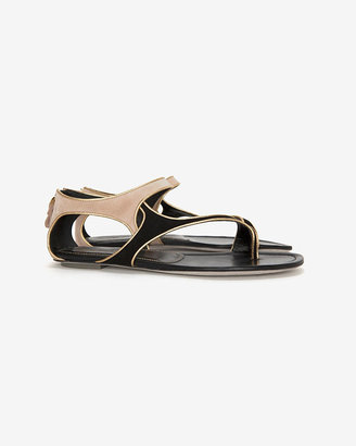 Sergio Rossi Gleam Flat Sandal