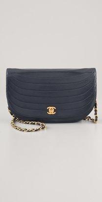 WGACA Vintage Chanel Half Moon Bag