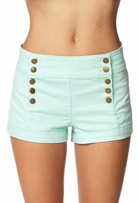 Forever 21 Cuffed Sailor Shorts