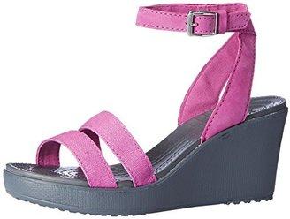 crocs Women's Leigh Wedge Sandal $29.99 thestylecure.com