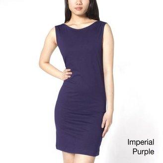 American Apparel Women's Jersey Scoop Back Sheath Dress $24.99 thestylecure.com