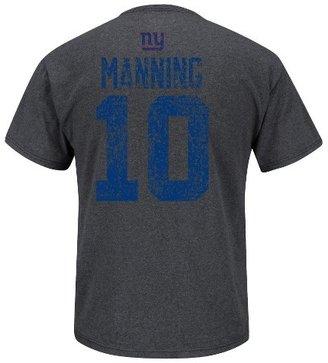 NFL New York Giants Eli Manning10 Draft Phil Charcoal Tee Shirt - Grey