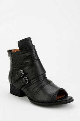 Jeffrey Campbell Isley Peep-Toe Ankle Boot