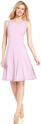 Calvin Klein Sleeveless Pleated A-Line Dress $89.98 thestylecure.com