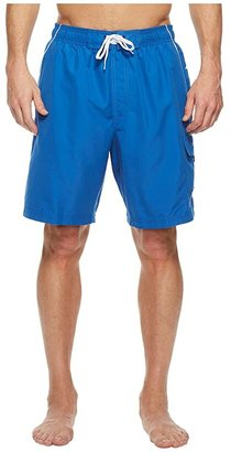 Speedo Marina Volley Swim Trunk (Classic Blue/White) Men's Swimwear