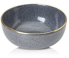 Michael Wainwright Panthera Blue and Gold Serving Bowl - 100% Exclusive