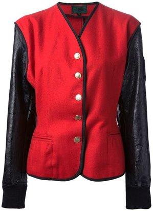 Jean Paul Gaultier Vintage colour block jacket