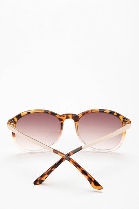 Urban Outfitters Crystal Fade-Out Sunglasses