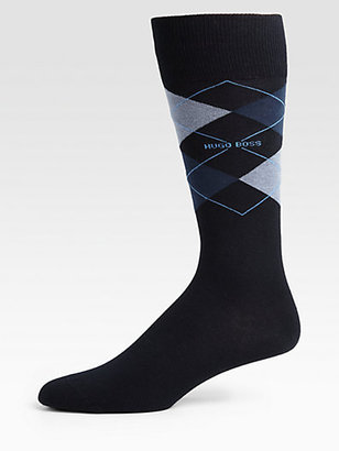 HUGO BOSS Ben Argyle Dress Socks