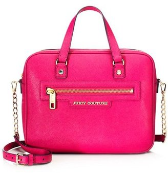 Juicy Couture Sophia Leather Luggage Satchel