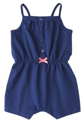 Circo Newborn Girls' Romper - Blue Midnight