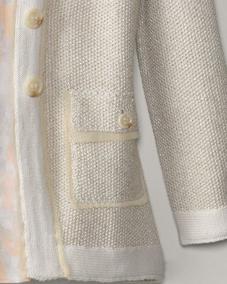 Coldwater Creek Twinkle texture sweater