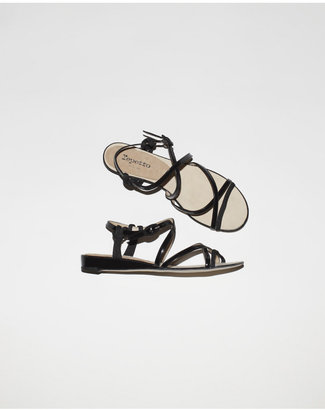 Repetto songe strappy wedge sandal