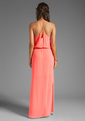 Rory Beca Morrison Cross Strap Gown