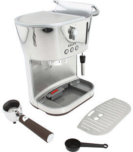 Krups XP4600 Silver Art Espresso with Precise Tamp