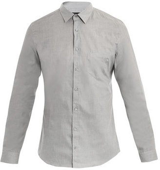 Gucci Fil a fil crested shirt