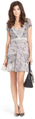 Diane von Furstenberg Heidi Printed Chiffon Dress