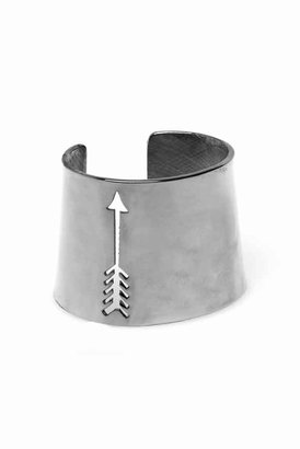 House Of Harlow Arrow Cut Out Cuff in Silver