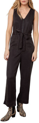 Rails Luke Belted Zip-Front Jumpsuit