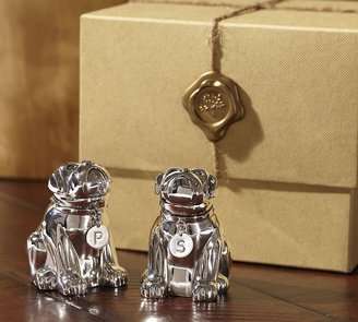 Pottery Barn Bulldog Salt & Pepper Gift Set