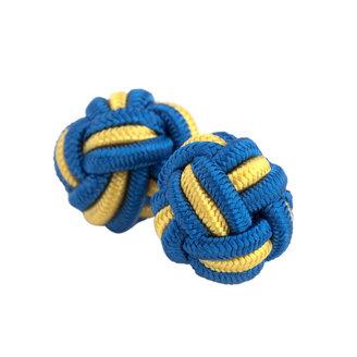 Classic Two - Tone Cuff Knots $10 thestylecure.com