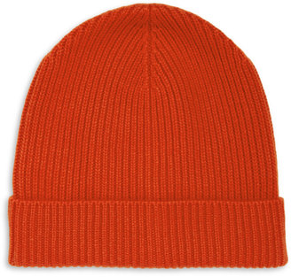 J.Crew Ribbed Cashmere Beanie Hat