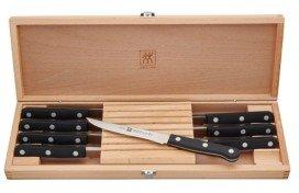 Zwilling J.A. Henckels Twin Gourmet Steak Knives, 8-Piece Riveted Set
