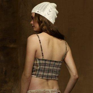 Denim & Supply Ralph Lauren Plaid Bralette