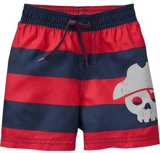 Old Navy Striped Swim Trunks for Baby