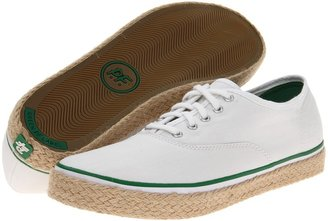 PF Flyers Windjammer Espadrille (White Canvas) - Footwear