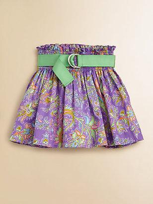 Ralph Lauren Toddler's & Little Girl's Paisley Skirt