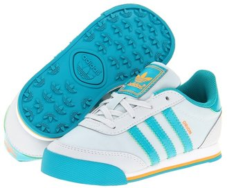 adidas Kids - Orion 2 - Nylon (Infant/Toddler) (Clear Grey/Blast Emerald/Zest) - Footwear