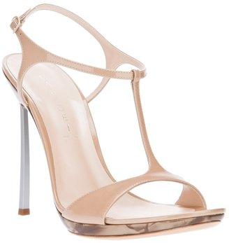 Casadei t-bar strap sandal