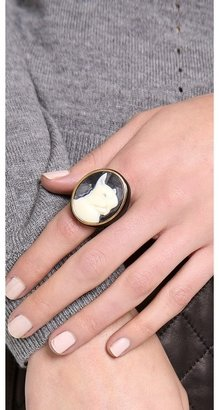 Marc by Marc Jacobs Olive Cameo Ring