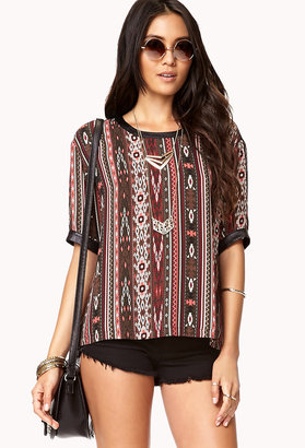 Forever 21 Out West Blouse