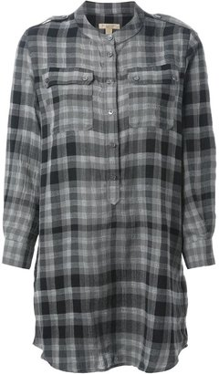 Burberry checked pattern tunic