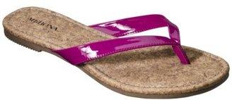 Merona Women's Leeza Flip Flop - Pink
